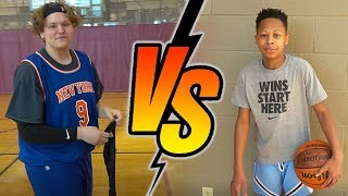 DonJ vs Zesty. IRL 1 vs 1 Basketball Match-up