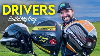 One driver DESTROYED the others | Build My Bag | TaylorMade Sim vs Cobra SZ vs Callaway Mavrik