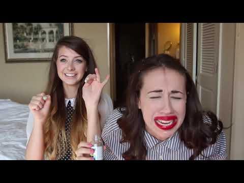 El reto de los 7 segundos con Miranda Sings y Zoella
