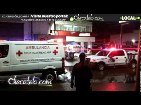 Ejecutan a tres hombres en Ciudad Obregón