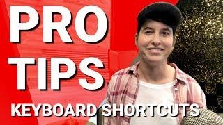 Keyboard shortcuts   Pro Tips from TeamYouTube