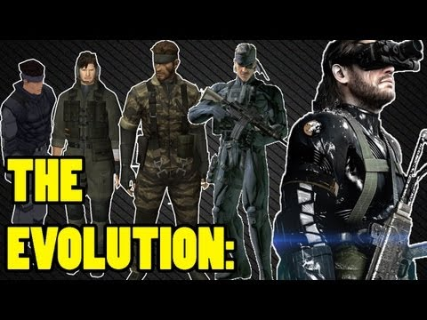The Evolution of Graphics: Playstation (Metal Gear Solid Edition)