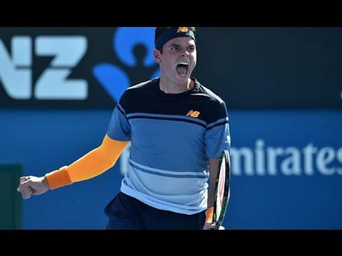 Milos Raonic v Tommy Robredo highlights (2R) | Australian Open 2016