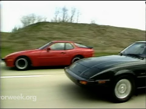 MotorWeek   Retro Review: '83 944 Vs. RX-7