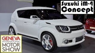 Suzuki iM-4 Concept, live photos at 2015 Geneva Motor Show