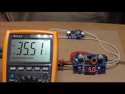 dc dc converter.Повышающий преобразователь постоянного напряжения с 3 до 35В.