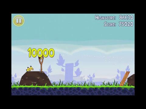 Angry Birds Lite | 3 Star Walkthrough | Level 9