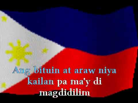 Karaoke - Lupang Hinirang - Philippine National Anthem video