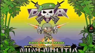 เเจก เกม Mini militia pro pack mod