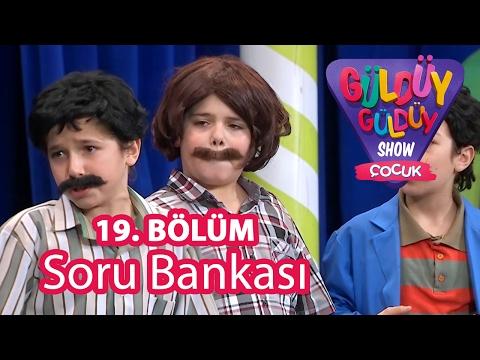 Güldüy Güldüy Show Çocuk 19. Bölüm, Soru Bankası Skeci
