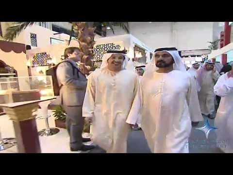 Mohammed bin Rashid tours Gulfood 2012