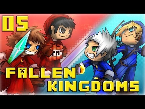 Fallen Kingdoms : Ice VS Fire Jour 5 Minecraft