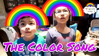 Color Song Nursery Rhymes Kids Songs Painting Rocks by Thalia and Milton!