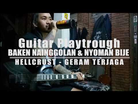 Download Hellcrust 'Geram Terjaga' guitar playthrough Mp4 baru