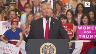 President Donald Trump holds rally in Nashville | ABC News