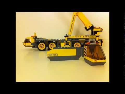 Lego City Mobile Crane Lego City 7249 Xxl Mobile
