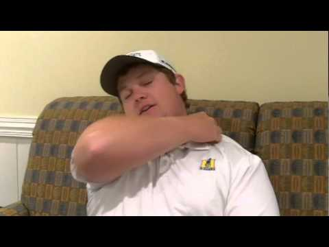 Murray State golfer Patrick Newcomb (Benton, Ky.) talks about his recent win ...