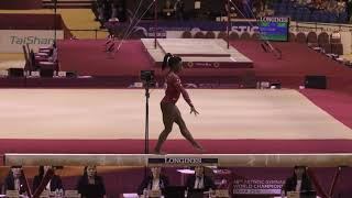 Simone Biles - Balance Beam - 2018 World Championships - Events Finals