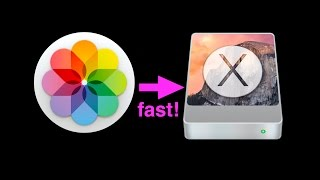 HOW TO MOVE APPLE PHOTOS LIBRARY TO EXTERNAL HARD DRIVE
