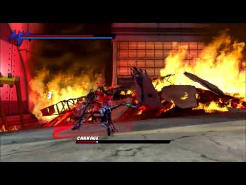 Spiderman Shatered Dimensions - Ultimate Spiderman Vs Carnage (HD