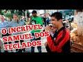 Jovem de 14 anos encanta público na praça de Pouso Alegre