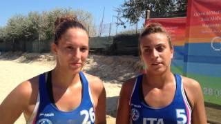 Mediterranean Beach Games: l'Italia femminile batte 2-0 la Tunisia