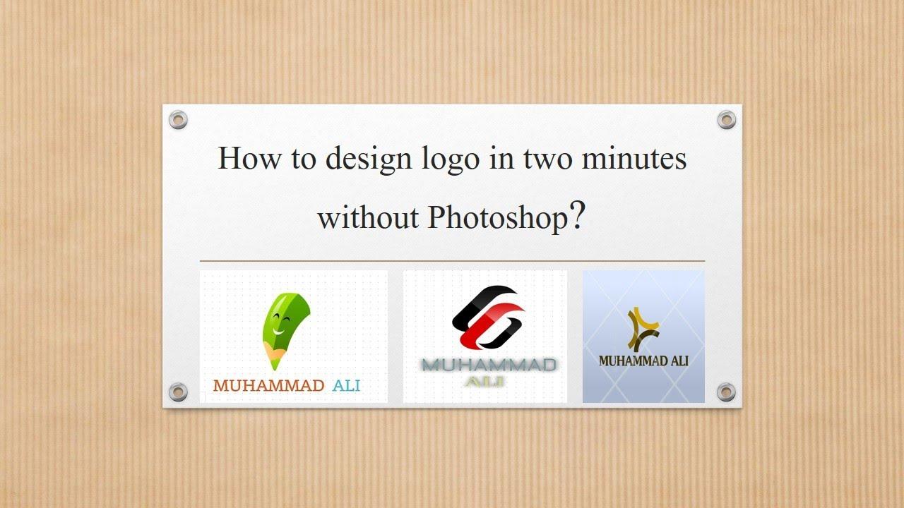 How to design a youtube logo