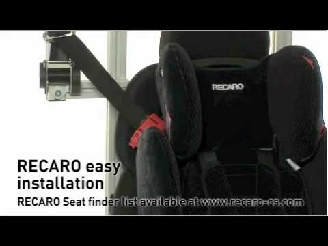 recaro young sport car seat video review. Black Bedroom Furniture Sets. Home Design Ideas