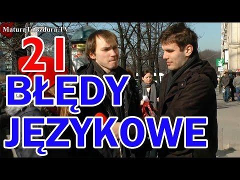 TV jaja - Polskie błędy językowe!