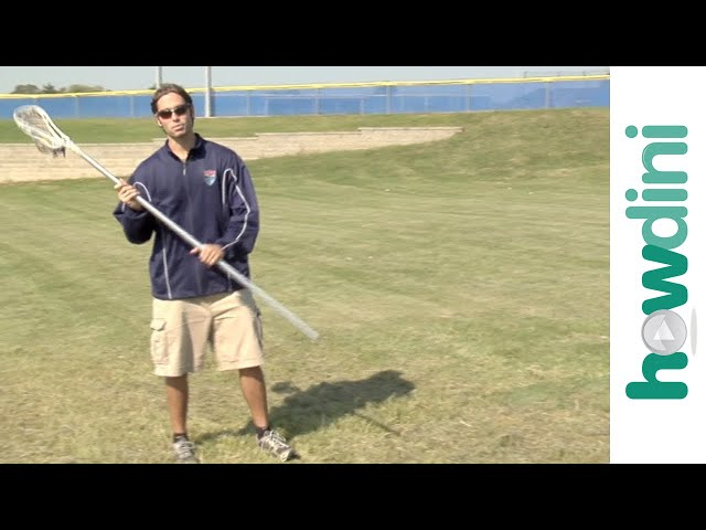 Lacrosse tips: How to catch the ball with Jake Deane