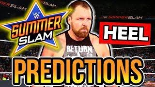 WWE SUMMERSLAM 2018 Predictions