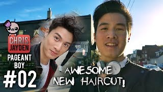 AWESOME NEW HAIRCUT💇! My First Perm😜~ Pageant Boy #02 / Weekly VLOG #018 📺🎤