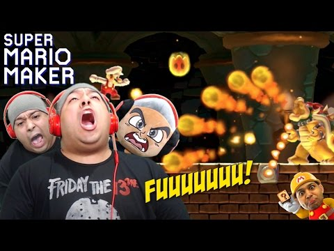 SERIOUSLY, F#%K THIS ENTIRE GAME!!  [SUPER MARIO MAKER] [#65]