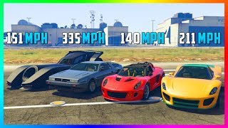 What Is The Fastest Vehicle In GTA Online?