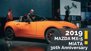 2019 Mazda MX 5 Miata 30th Anniversary