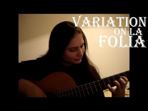 Variation on la Folia by Francois de Fossa