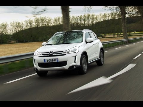 Citroen C4 Aircross roadtest