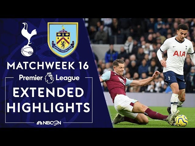 Tottenham v. Burnley   PREMIER LEAGUE HIGHLIGHTS   12/07/19   NBC Sports thumbnail