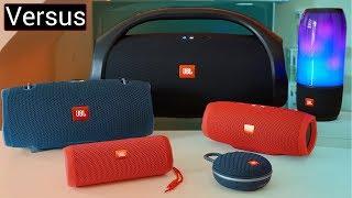 JBL Speaker Line Up Explained- JBL Boombox vs Xtreme 2 vs Pulse 3 vs Charge 3 vs Flip 4 vs Clip 3