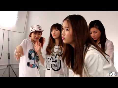 GLAM - In Front of The mirror (mv making) KPro