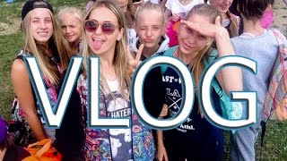 VLOG | Summer open camp with open art studio | Sashka_gribovskaya