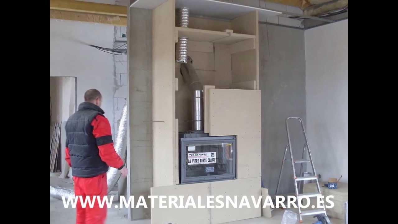 Placa ignifuga para chimeneas r01120500 youtube - Revestimientos para chimeneas de lena ...
