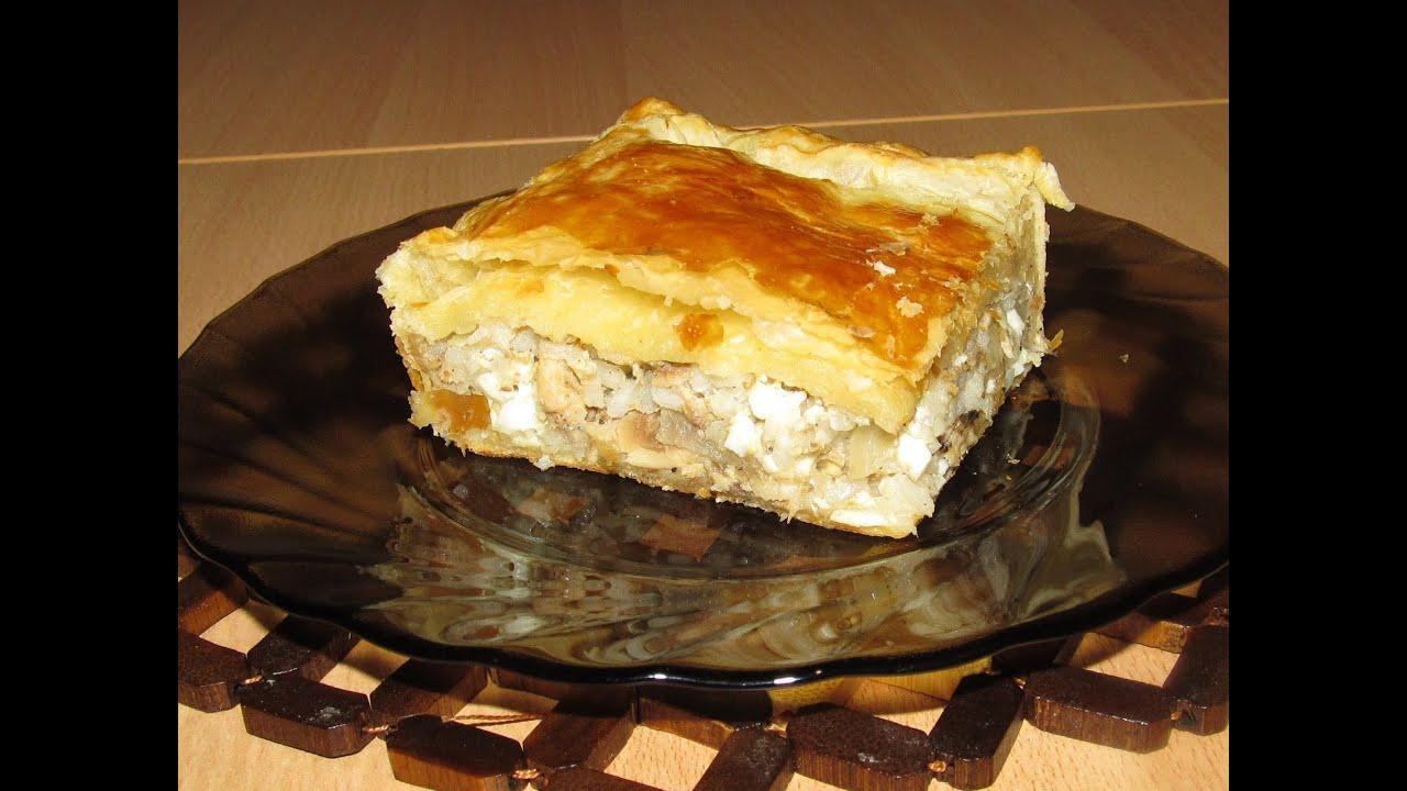 Рецепты пирогов с рыбой