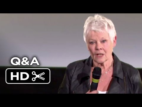 Philomena Movie Q&A Highlights (2013) - Steve Coogan, Judi Dench Drama HD