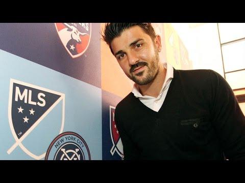ESPAÑOL: David Villa ansioso por debutar con NYCFC
