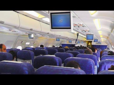 Cyprus Airways Pre-Flight/Safety Announcement - CYP7606 Skiathos-Larnaca - Airbus A320