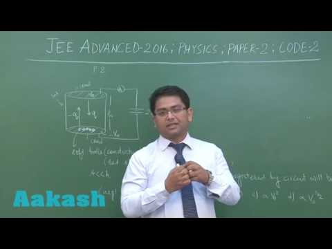 JEE Advanced 2016 Solution Paper-2 Physics [Q. 17-18] By Aakash