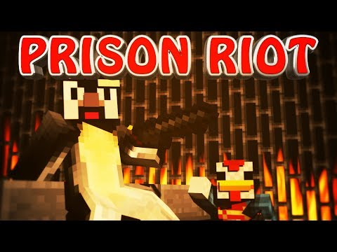 Minecraft | PRISON Ep 3 - PRISON RIOT