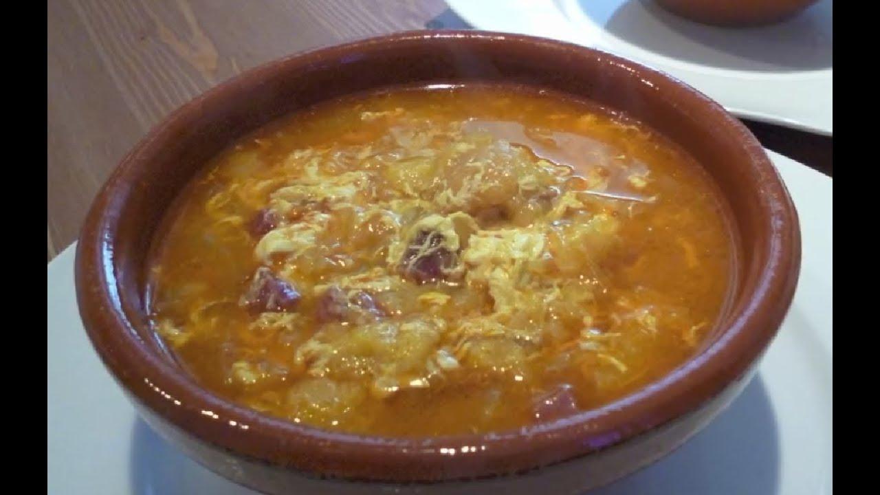 Sopa castellana f cil recetas de cocina espa ola youtube - Sopa castellana casera ...