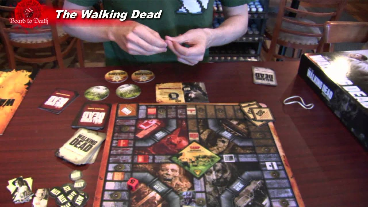 The Walking Dead Board Game Review Youtube